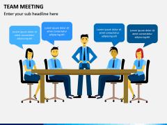 Team Meeting PPT Slide 6