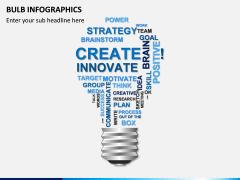 Bulb Infographics PPT Slide 1