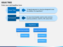 Issue Tree PPT Slide 12