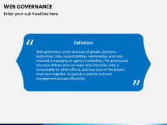 Web Governance PPT Slide 2