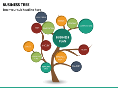 Business Tree PPT Slide 18