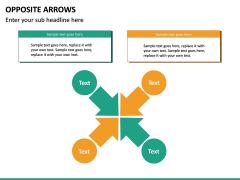 Opposite Arrows PPT Slide 24
