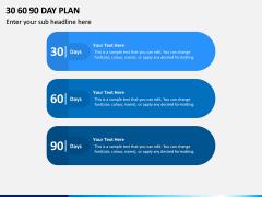 30 60 90 Day Plan PPT Slide 12