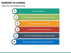 Barriers to Change PPT slide 18