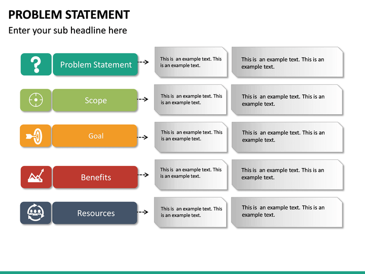 Problem Statement Powerpoint Template