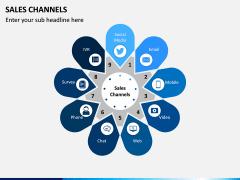 Sales Channels PPT Slide 1