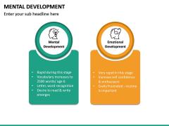 Mental Development PPT Slide 13