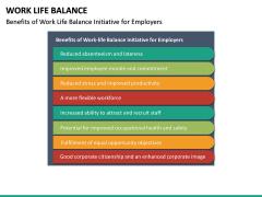 Work Life Balance PPT Slide 29