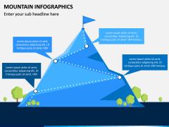 Mountain Infographics PPT Slide 10