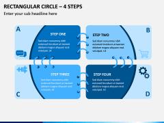 Rectangular Circle – 4 Steps PPT Slide 1