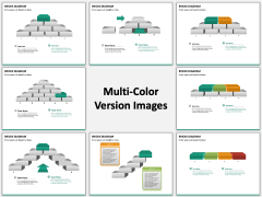 Bricks diagram PPT slide MC Combined