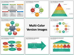 Sales performance management multicolor combined