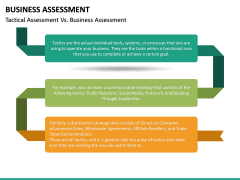Business Assessment PPT Slide 29