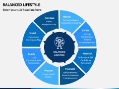 Balanced Lifestyle PPT Slide 2