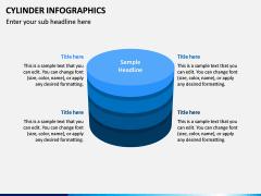 Cylinder Infographics PPT Slide 4