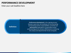 Performance Development PPT Slide 2