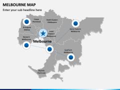 Melbourne Map PPT Slide 5