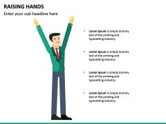 Raising Hands PPT Slide 20