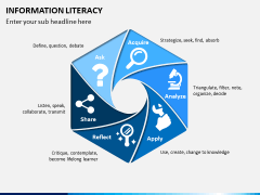 Information literacy PPT slide 1