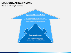 Decision Making Pyramid PPT Slide 8