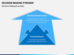 Decision Making Pyramid PPT Slide 8