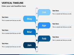 Vertical Timeline PPT Slide 3