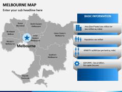 Melbourne Map PPT Slide 9
