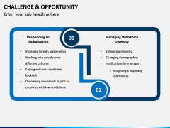 Challenge and Opportunity PPT Slide 1