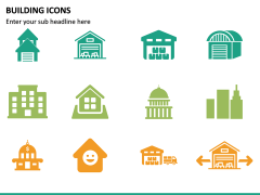 Building Icons PPT Slide 25