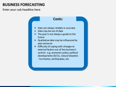 Business Forecasting PPT Slide 12