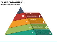 Triangle Infographics PPT Slide 22