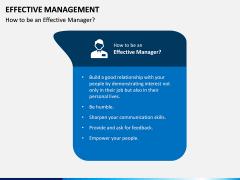 Effective Management PPT Slide 7