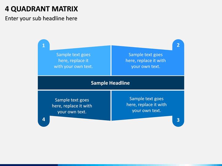 4 Quadrant Matrix PPT slide 1