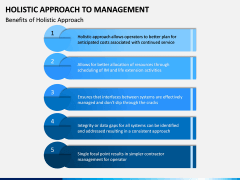 Holistic Approach to Management PPT Slide 7