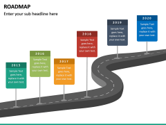 Roadmap PPT Slide 43