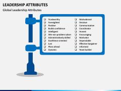 Leadership Attributes PPT Slide 1