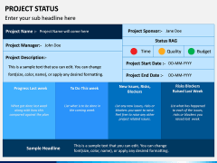 Project Status PPT Slide 6