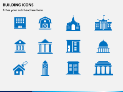 Building Icons PPT Slide 5