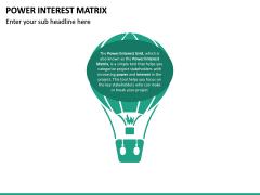 Power Interest Matrix PPT Slide 9