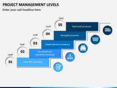 Project Management Levels PPT Slide 2