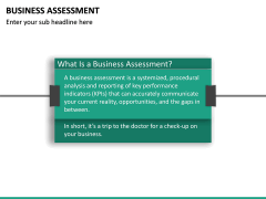 Business Assessment PPT Slide 18