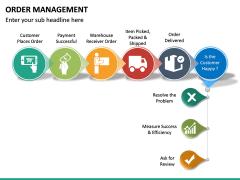 Order Management PPT slide 18