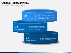 Cylinder Infographics PPT Slide 11