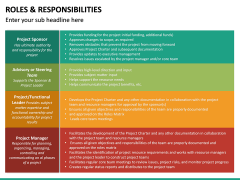 Roles and Responsibilities PPT Slide 42