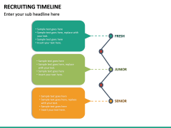 Recruiting Timeline PPT Slide 23