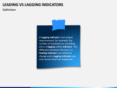 Leading Vs Lagging Indicators PPT Slide 1