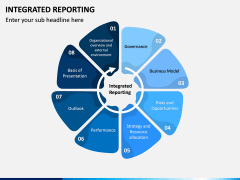 Integrated Reporting PPT Slide 1