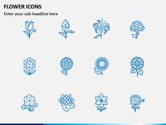 Flower Icons PPT Slide 2