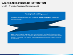Gagne's Nine Events of Instruction PPT Slide 13