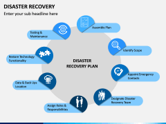 Disaster Recovery PPT Slide 1